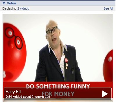 Harry Hill introduces Red Nose Day on Facebook