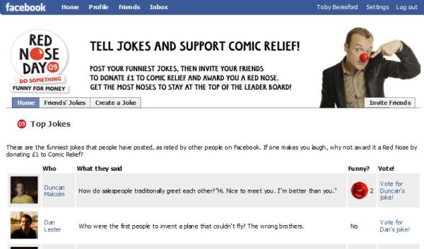 Be Funny for Money for Comic Relief